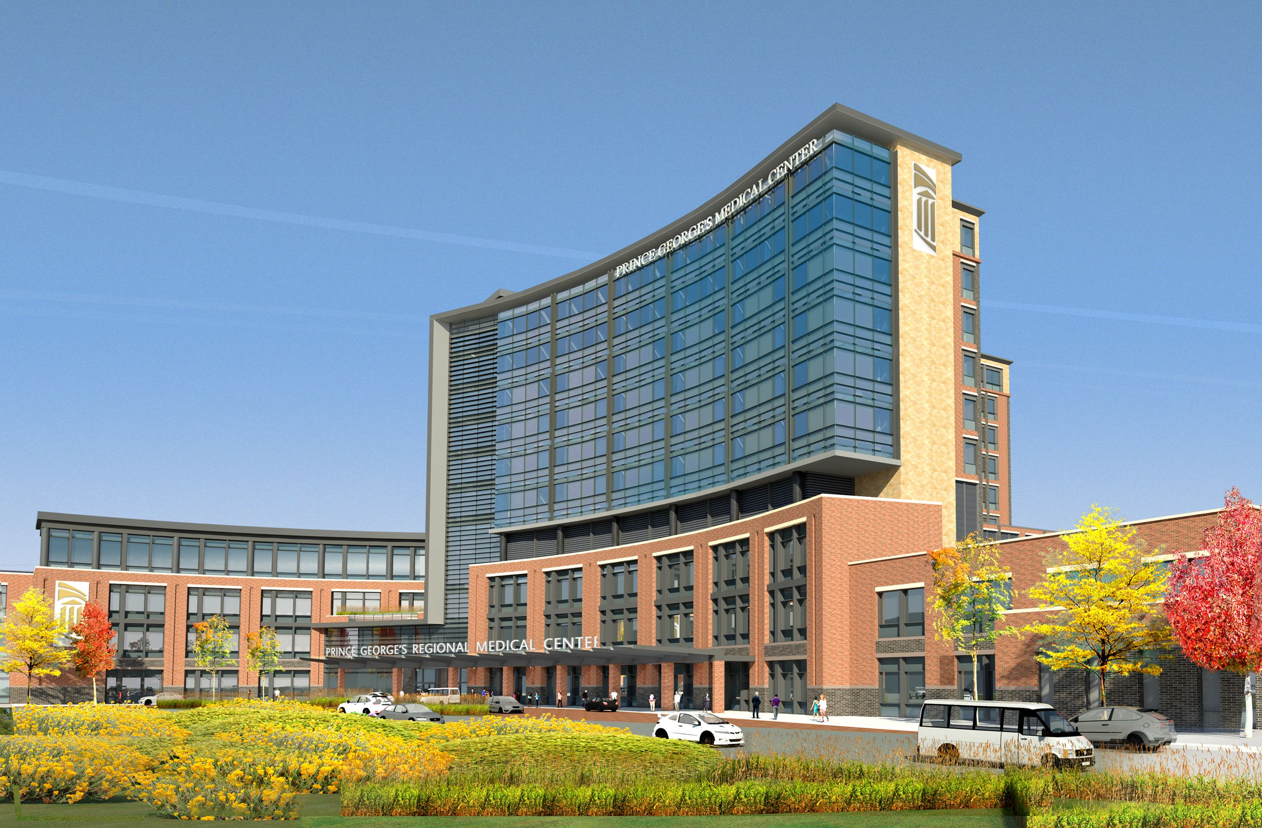 Rendering of the Regional Medical Center