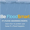 Image of clouds and rain. - Be Flood Smart. It&#39s Flood Awareness Month. Learn how to protect your