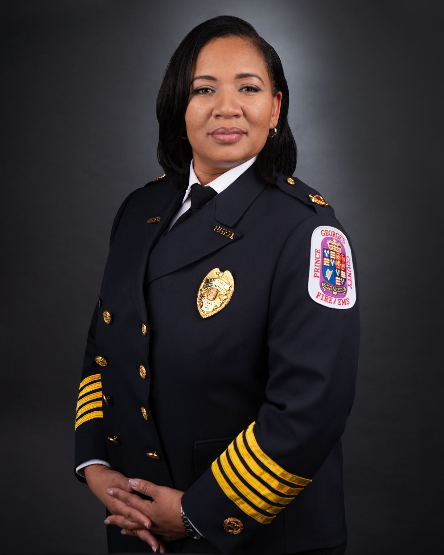 Fire Chief Tiffany Green