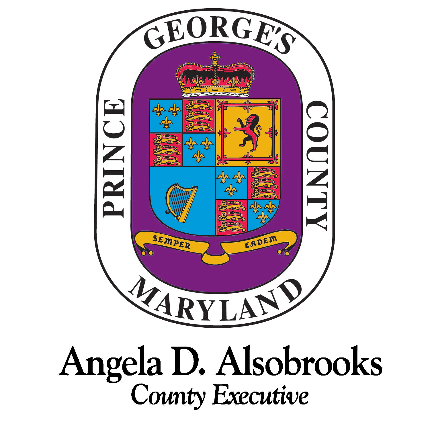 County Seal - Angela Alsobrooks
