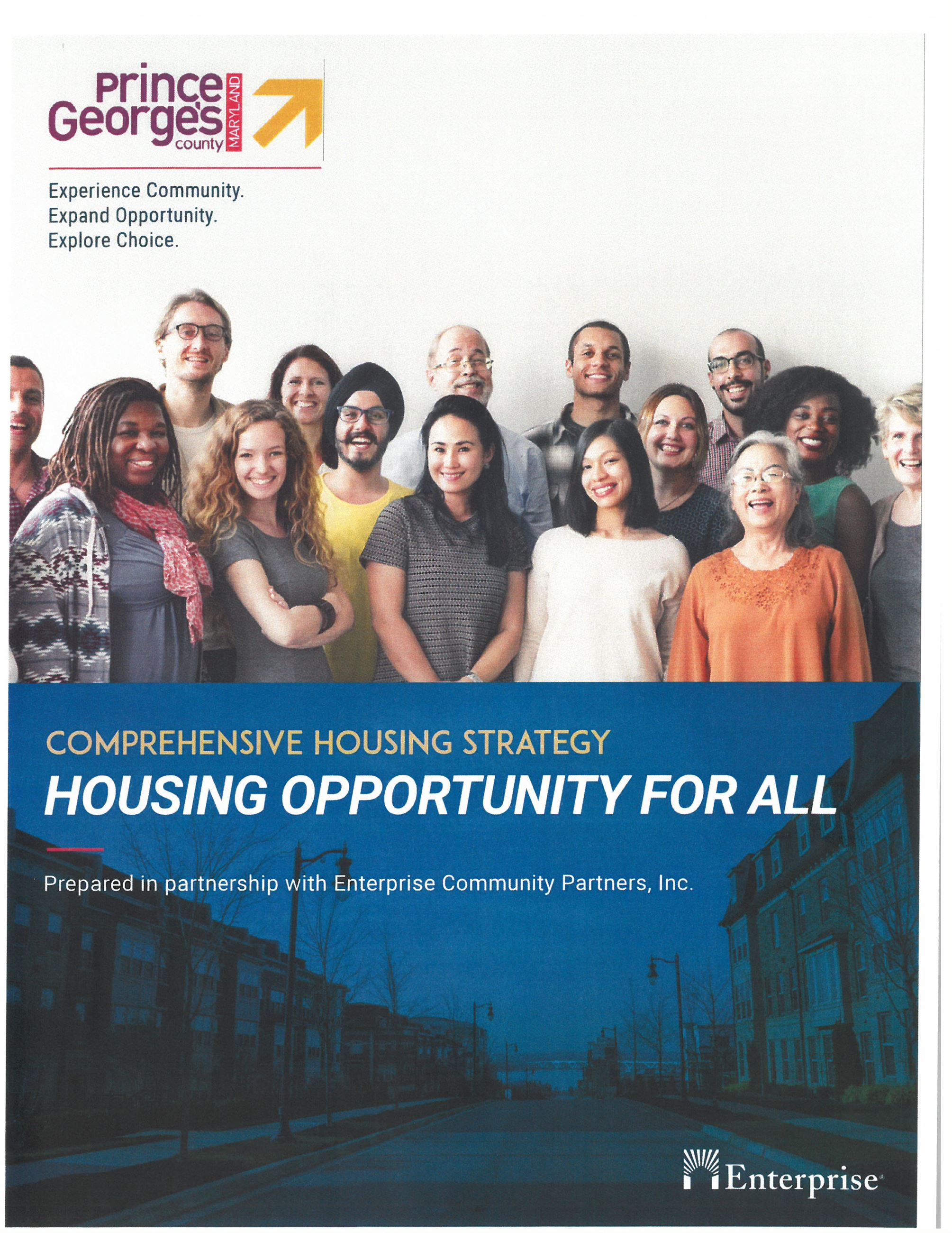Cover of Comprehensive Housing Strategy - Final