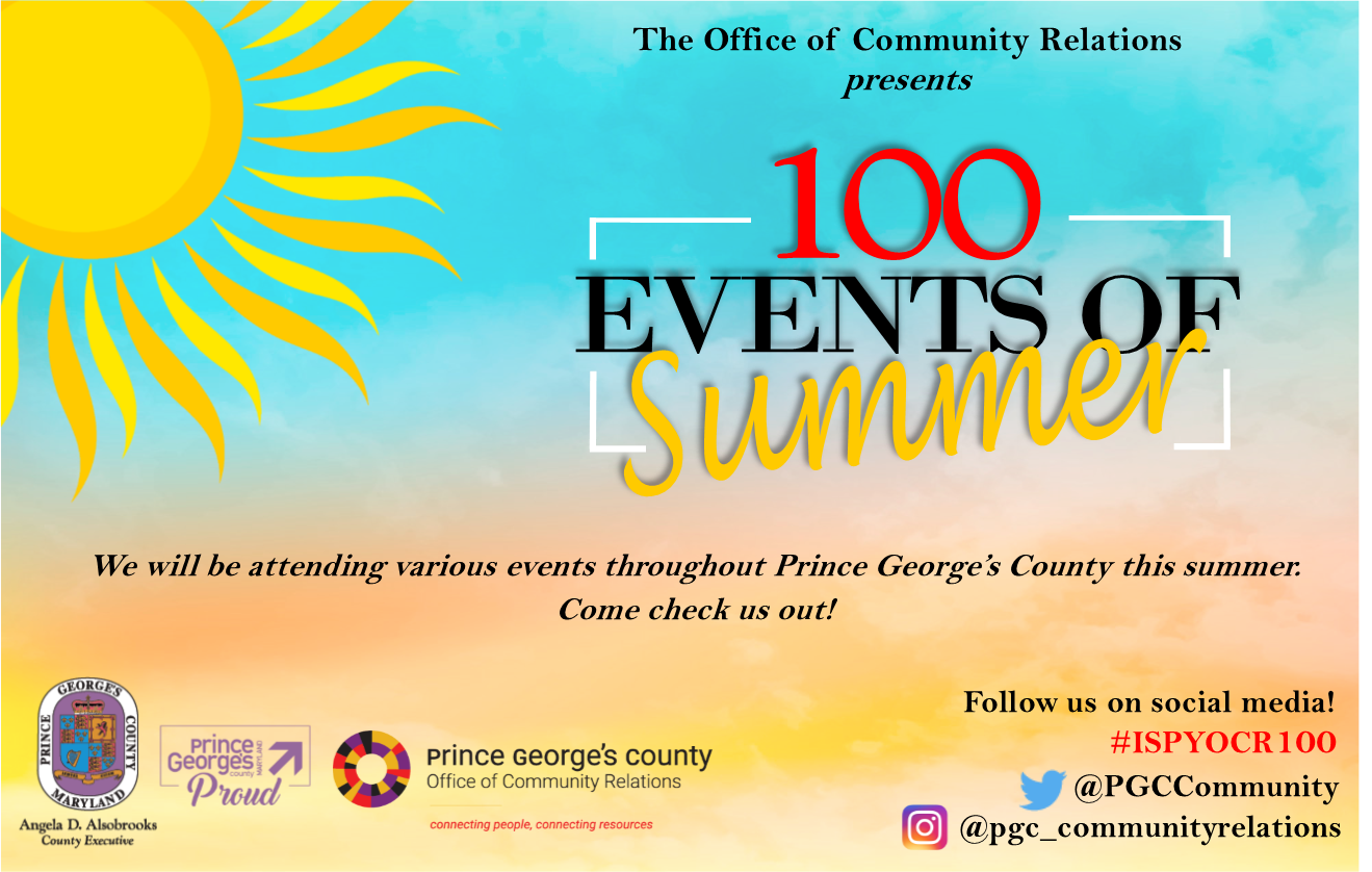 100 Events of Summer