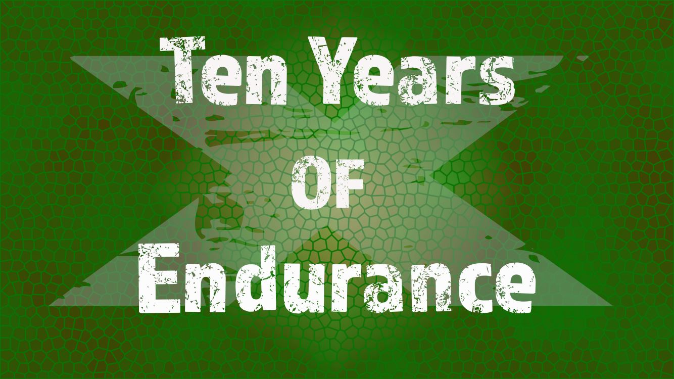 Ten years of endurance