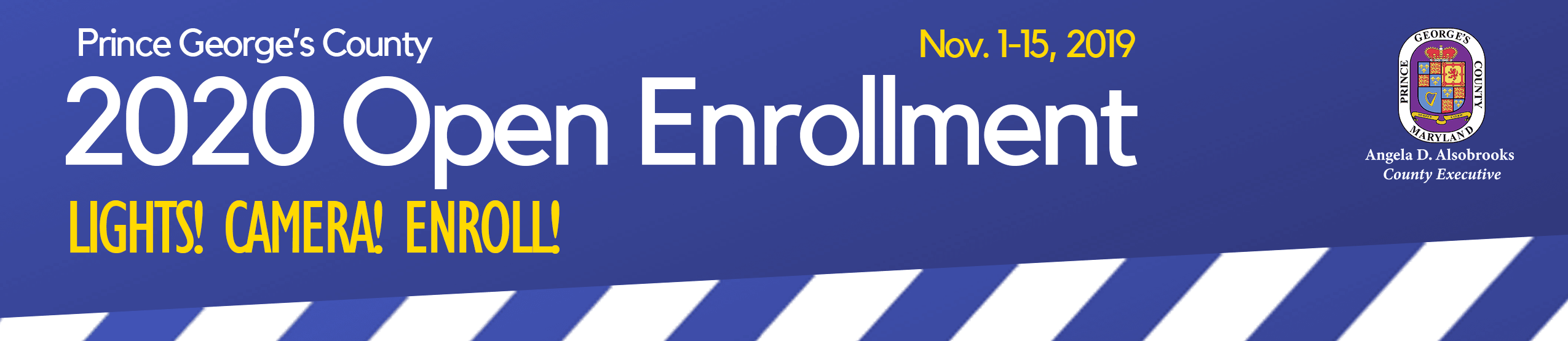 Open Enrollment 2020 Banner