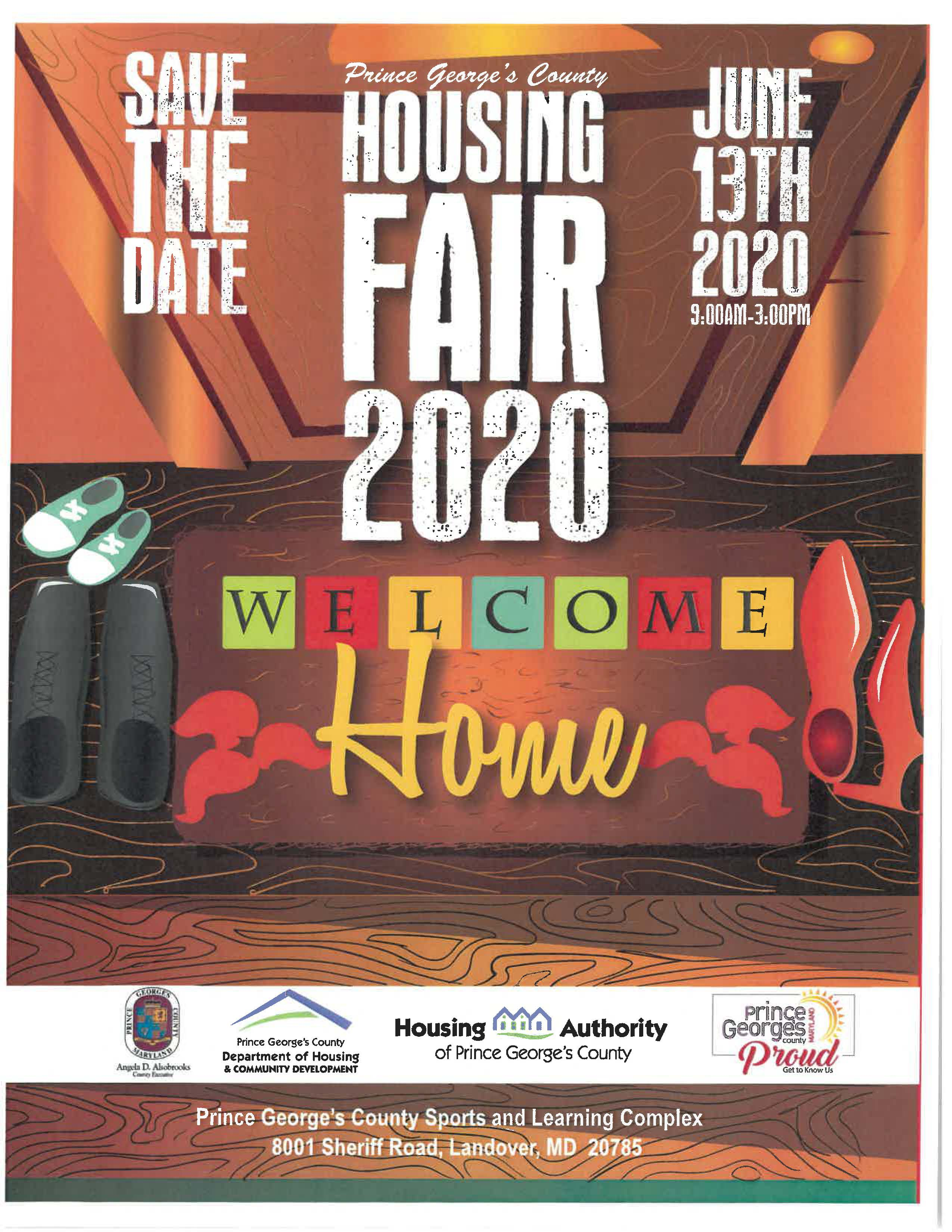 2020 Housing Fair - Save the Date Flyer