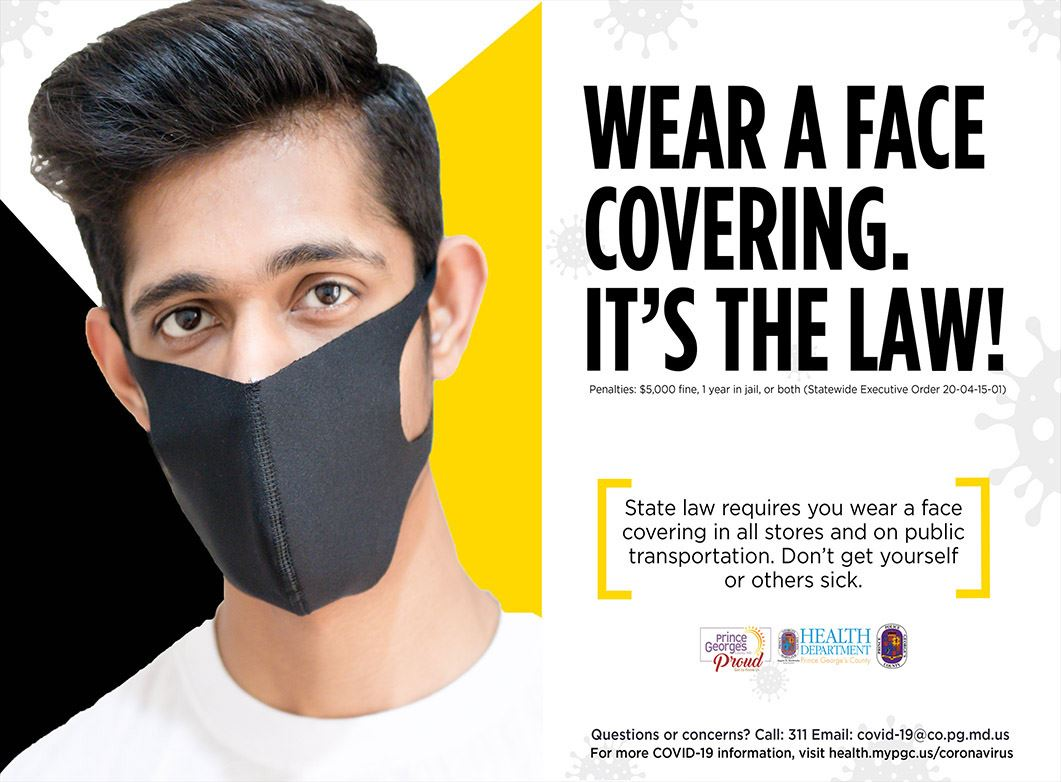 Face Covers Save Lives - English