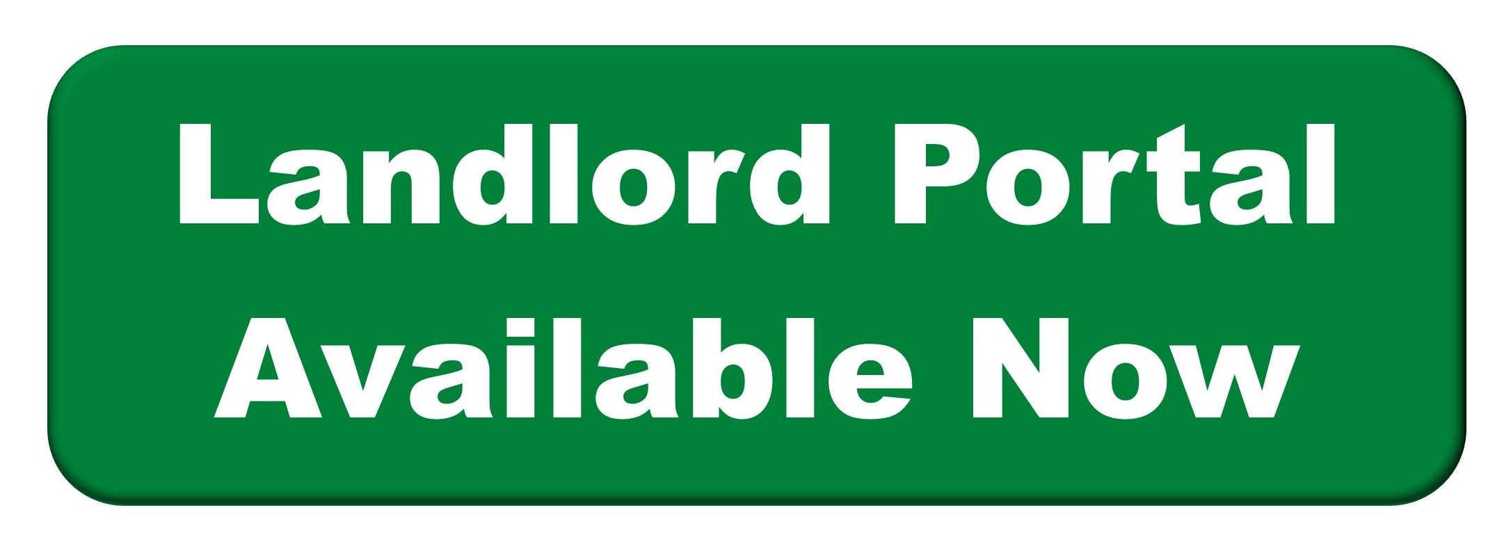 Landlord Portal Available Now