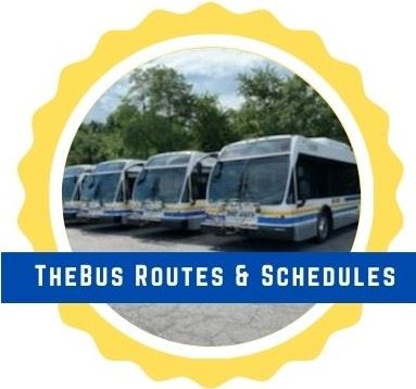 TheBus Routes and Schedules Button
