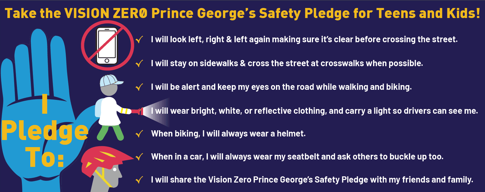 Vision Zero Kids Pledge