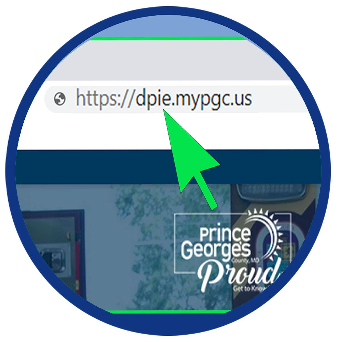 Resources icon of arrow pointing to DPIE url takes you to recommended resources for business owners