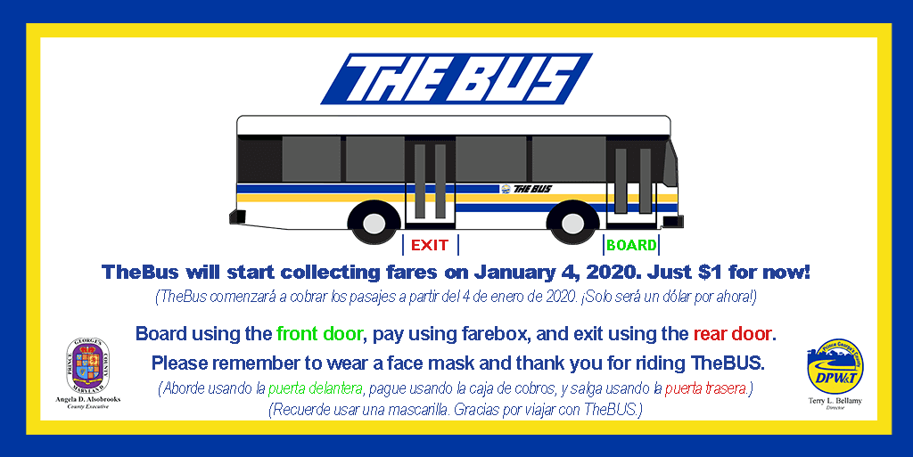 TheBus Reinstates Fare Collection at Reduced Rate of $1.00