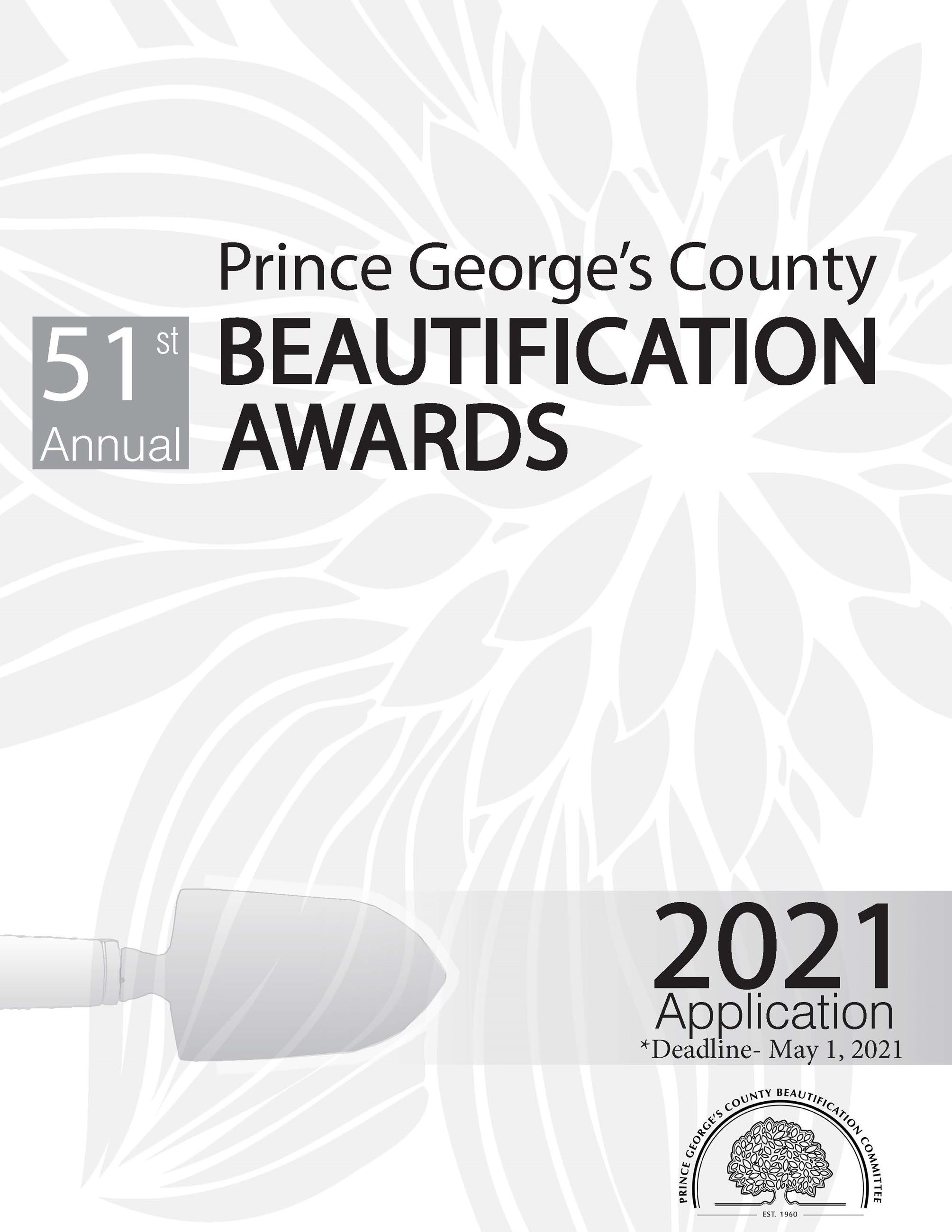 2021 Beautification Awards Application