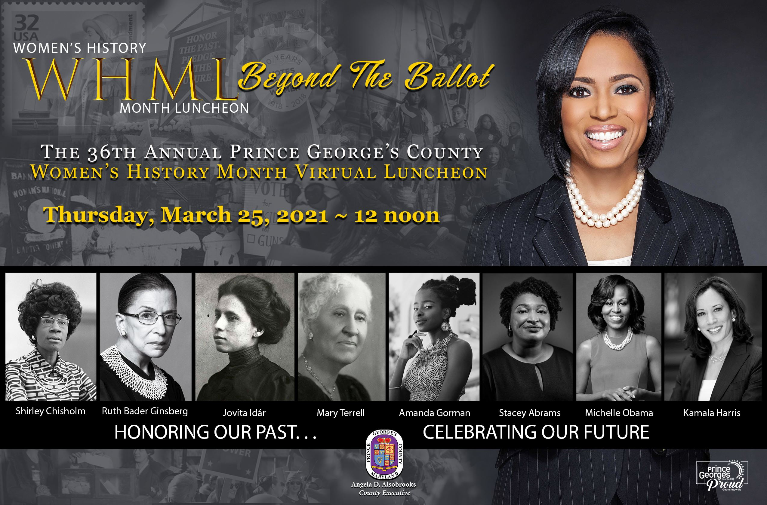 Women's History Month Luncheon flyer