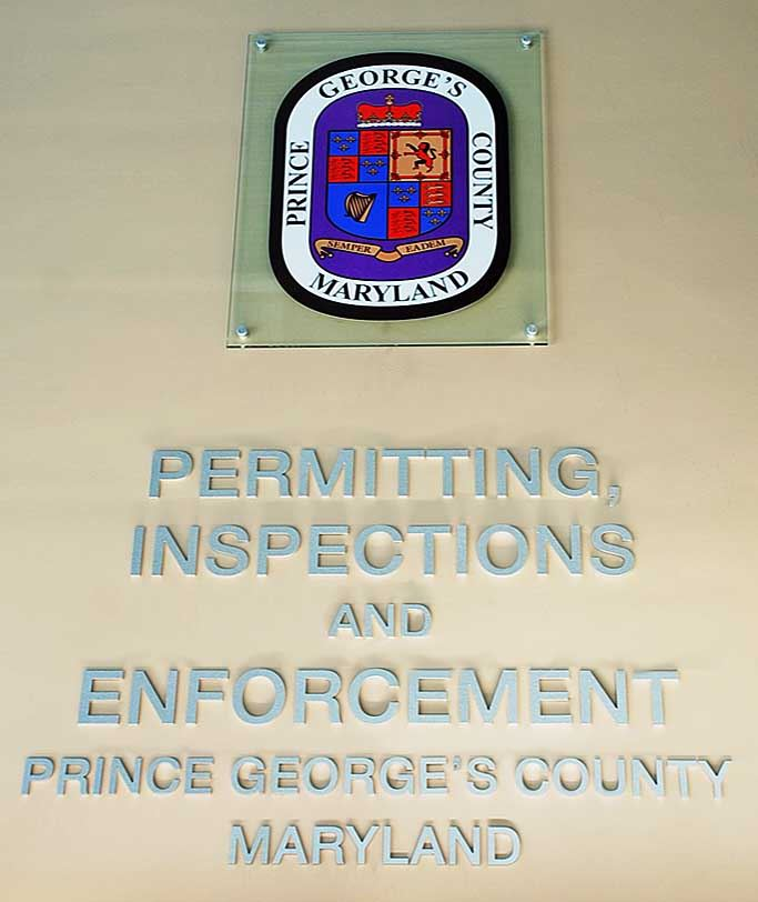 Permitting Inspections and Enforcement Wall