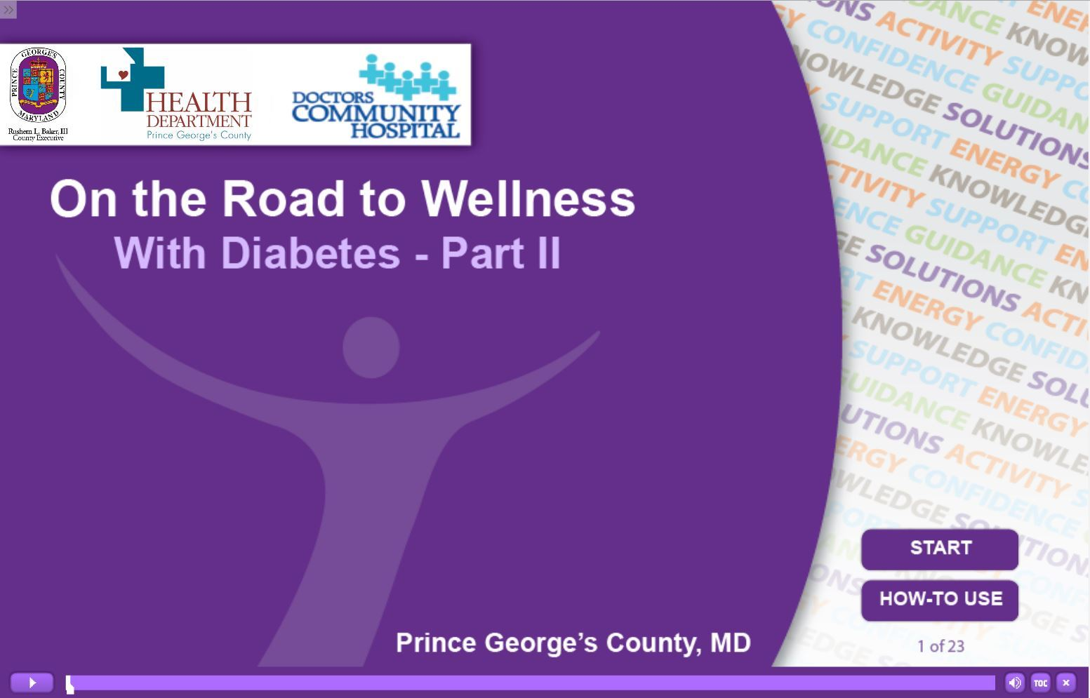On the Road to Wellness With Diabetes Part 2