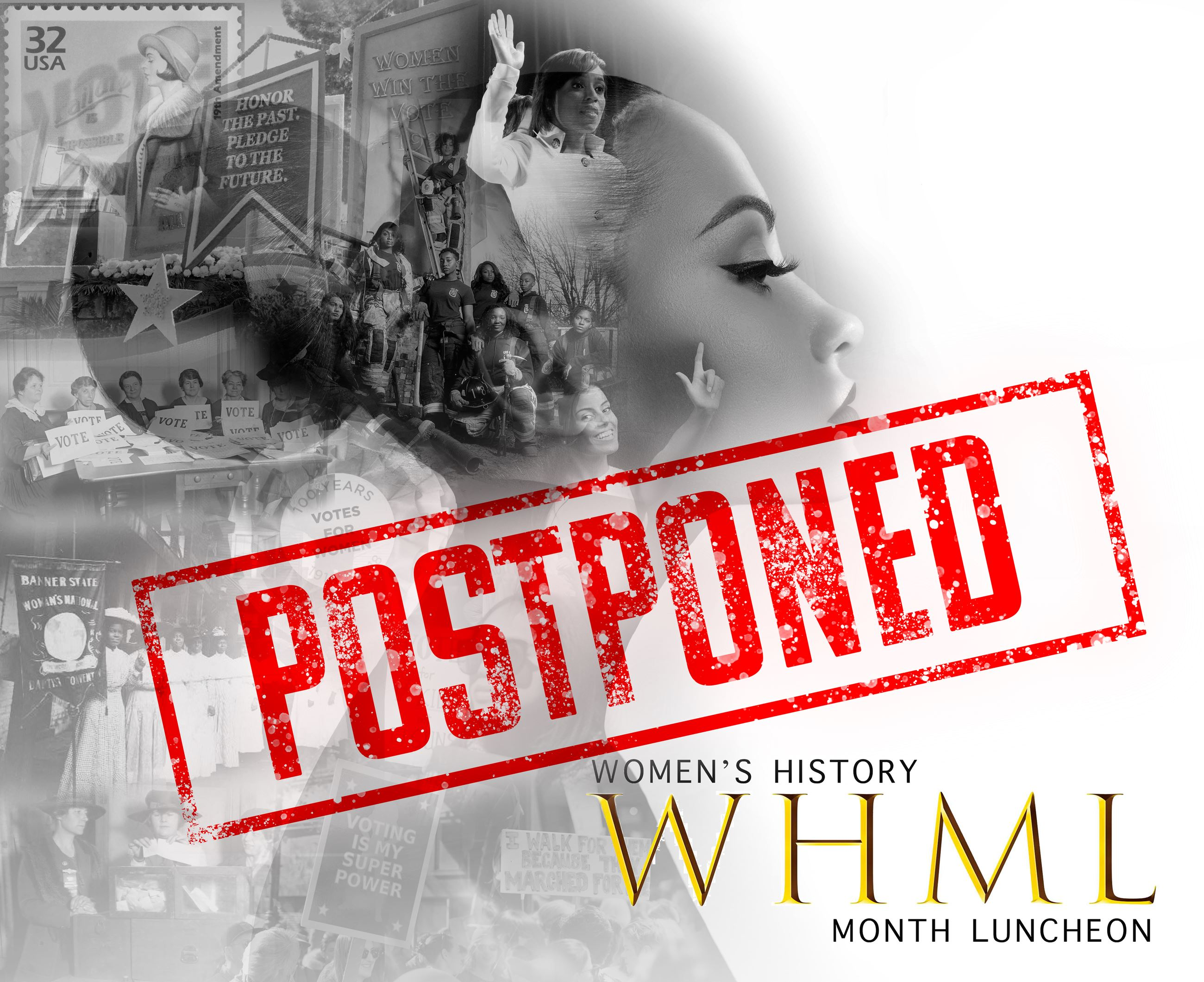 Women's History Month Luncheon Postponed