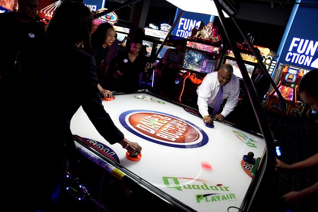 County Executive Baker at Grand Opening of New Dave and Buster's in Prince George's County