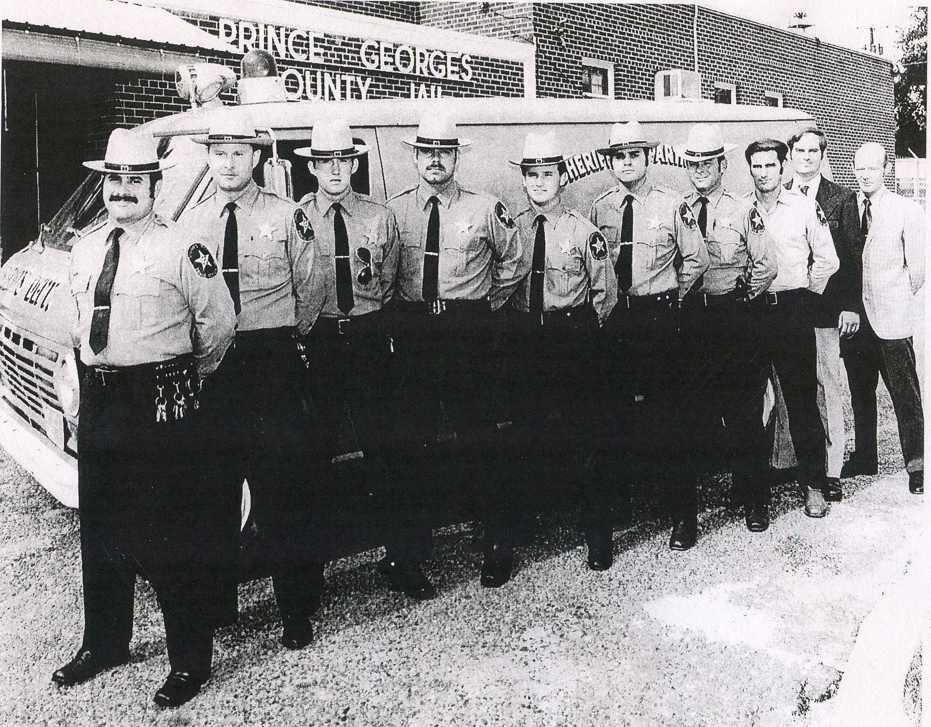 Sheriff Historical Group Photo