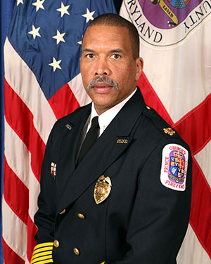 Photo of Acting Fire Chief Benjamin Barksdale